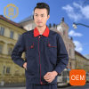 OEM Black and Red Safety Carpenter Coverall Workwear, European Workwear Uniform