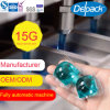 OEM&ODM 15g Low Foaming Liquid Detergent Pod, Concentration Laundry Liquid Detergent Capsule Pod
