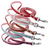 PU Leather Dog Leashes Outdoor Pet Harness Leads