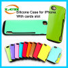 Card Slot Shockproof Armor Cases for iPhone 7/6/6s