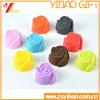 Customized Food Grade Rose Shape Silicone Cake Mould