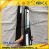 Russia Market Aluminium Sliding Door Profile with Electrophoresis Black Surface