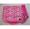 Girls Pink Messenger School Bag