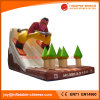 Inflatable Snow Jumping Bouncy Storm Slide (T4-310)