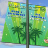 Customized Design High Quality Fabric Banner for Display