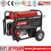 Electric Start 5kw 5.5kw Gasoline Generator with Battery and Wheels