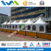 3mx3m White Aluminum PVC Pagoda Tent for Shade Corridor