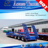 Heavy Duty Equipments Transport Low Bed Trailer Truck