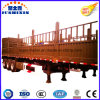 Direct Factory Price 3 Axle Single or Double Tyre Fence Stake Cargo Utility Truck Trailer for Sale