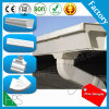 White and Black PVC Gutter Water Collector