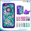 2in 1 Colorful Printed Combo Hybrid PC Silicone Case for Mobile Phone Cover iPhone 6 Plus