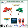 Top Brand Electric Overhead Traveling Monorail Wirerope /Chain Hoist