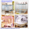 Decorative Bed Canopy Mosquito Netting, Rectangular Palace Mosquito Net