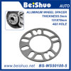 Aluminum Alloy 6061 Car Auto 5mm Thickness Wheel Spacer Gasket