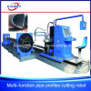 Square/Round Pipe Trusses CNC Plasma Flame Cutting Machinery
