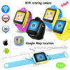 Multiple Languages 3G WCDMA Kids Tracker Watch with 2.0m Camera (D18)