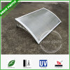 Economic Easy Assembling Plastic Hollow Polycarbonate Window Awnings Door Canopies