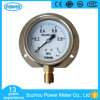 Diameter 80mm Stainless Steel 1MPa  Fillable Pressure  Gauge with Back Flange