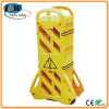 Extensible Plastic Fence for Road Construction