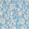 Hot Sale Lace Fabric Tricot Lace Cotton Fabric (6143)