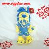 Plush Cartoon Football Club Mascot