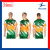 Healong Customized Sublimation Rugby Jersey with High Quality