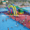 2017 Popupar Big Kids Inflatable Water Bouncy Slide