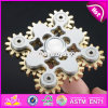 Latest Design Fidget Spinner Nine Gear Teeth Linkage Metal EDC Hand Spinner W01A286