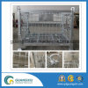 High Quality Stackable Stainless Steel Wire Mesh Container for Lifting Type