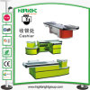 Customized Shape Checkout Counter Table Desk for Stores