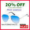 2016 New Fashion Metal Stainless Sunglasses with Polarized Mirror Lens