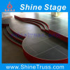 2015 Shape Customized Stage with Stair for Audio, Video & Lighting