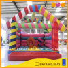 Colorful Rainbow Inflatable Bouncer House (Aq207)