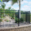 Galvanized High Security Steel Fence