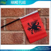Mini Polyester National Day Albania Hand Flag (J-NF10F02021)