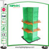 Convenience Store Four Sided Metal Display Shelf