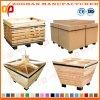 Solid Supermarket Wood Material Storage Display Standing Shelves Rack Zhv70