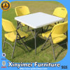 High Quality Metal Frame Plastic Back and Seat White Folding Chair