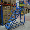 Warehouse 4 Step Ladder with Safety Guard Rail