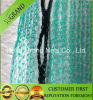 Green Scaffolding Safety Net with Black Eyelets