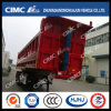 50t U-Type Semi Trailer with Extended Side Wall