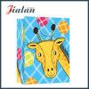 Cute Cartoon Animal Design Logo Printed Retail Paper Gift Bags