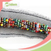 Fast Delivery Colorful Beads Saree Border Lace Beaded Lace Trim