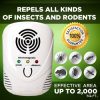 Multifunctional Ultrasonic Pest Repeller Pest Offense Electronic Pest Repeller