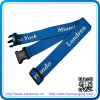 Order From China Direct Luggage Strap with Logo (HN-LE-004)