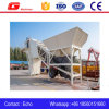 Yhzs50 Mobile Ready Mix Commercial Concrete Batching Plant in Russia