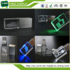 Wholesale USB Flash Drive/Crystal Thumbdrive /USB Modern with LED Logo