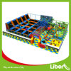 Import Mat Commercial Indoor Trampoline with Kids Playground