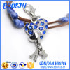 Fancy Crystal Heart Charm for Wholesale