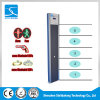 5 Zones Portable Single Post Digital Walk Through Metal Detector